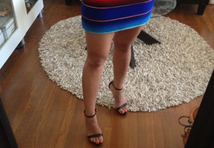 DIY Mexican Miniskirt
