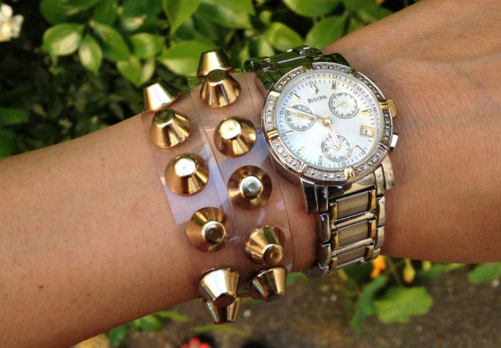 diy valentino inspired bracelet