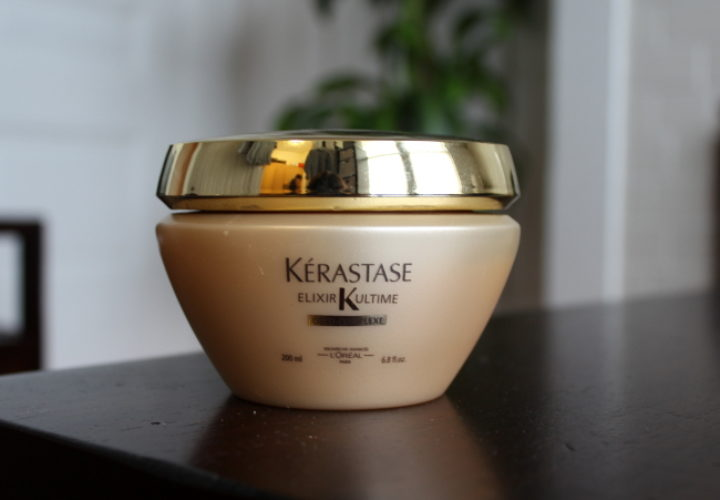 add more shine with kérastase elixir ultime masque