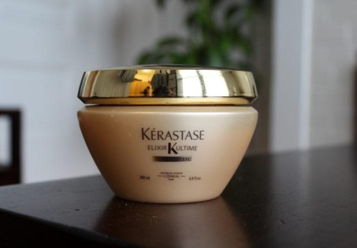 add more shine with kérastase elixir ultime masque