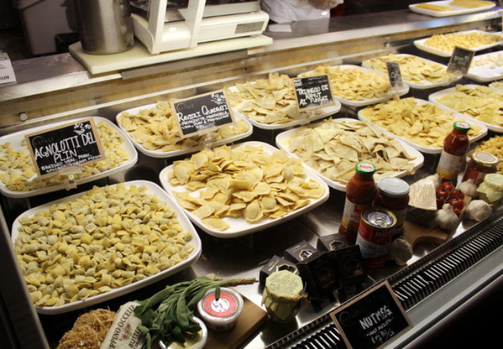 Eating in Eataly! In New York…