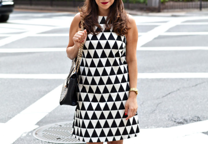 Checkered & Taxi Cabs :: Asos Dress & Valentinos