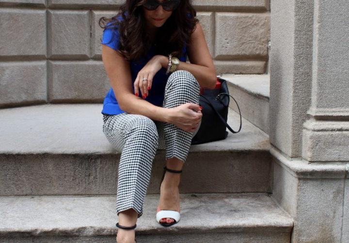 What to Wear to Work   Peplum Top