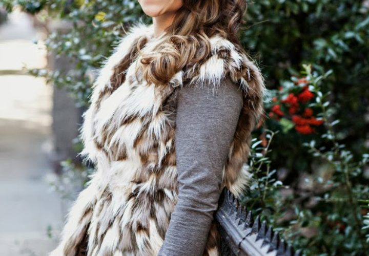 Fall Layers | Fur Vest