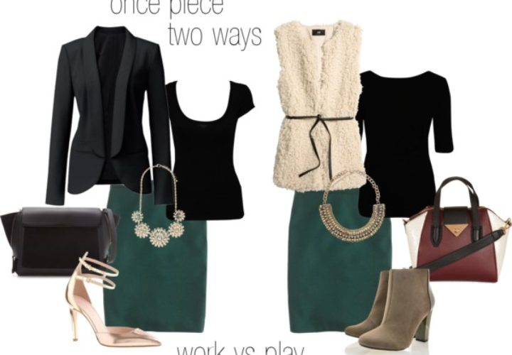 No. 2 Pencil Skirt :: One Piece, Two Ways…