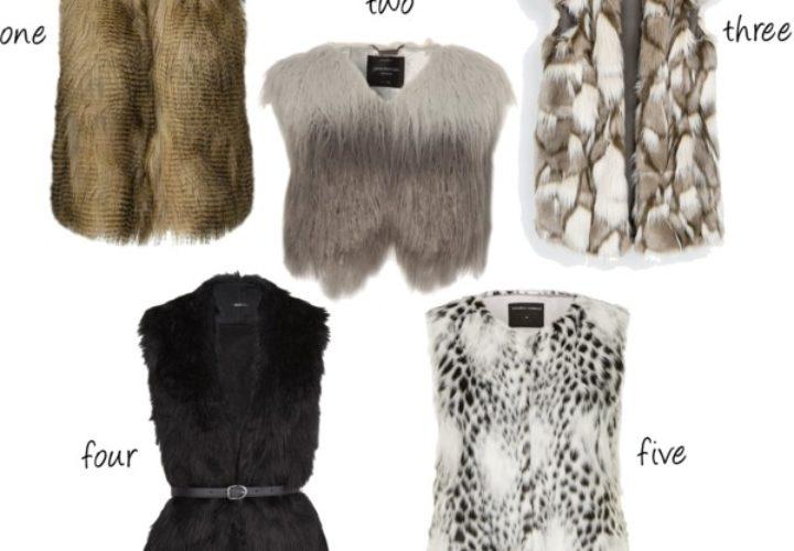 Faux Fur :: 5 Vest Under $100