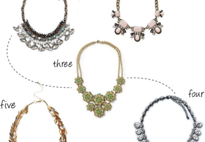 5 Statement Necklaces under $50