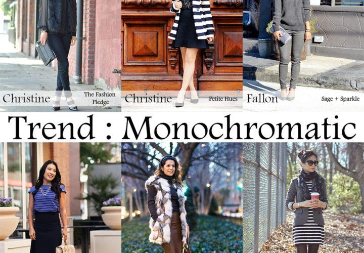 Monochromatic & Fur Vest