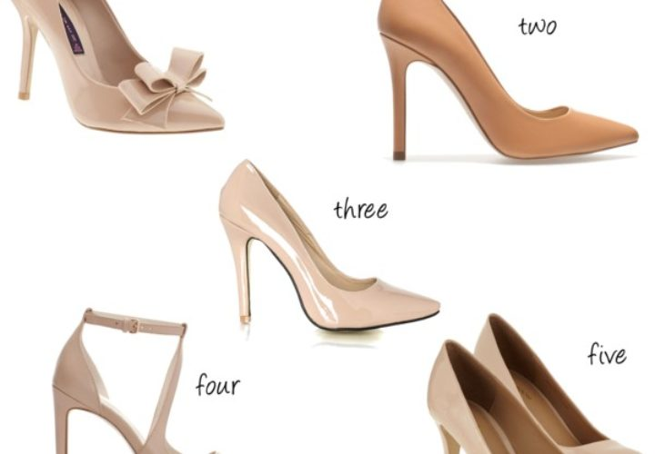 5 Nude Heels for the Office under $100