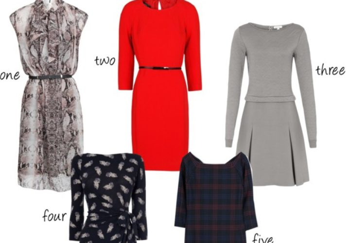 Five Stylish Work Dresses under $100
