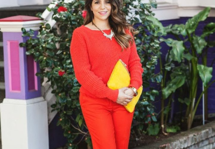 Wearing Monochromatic Orange
