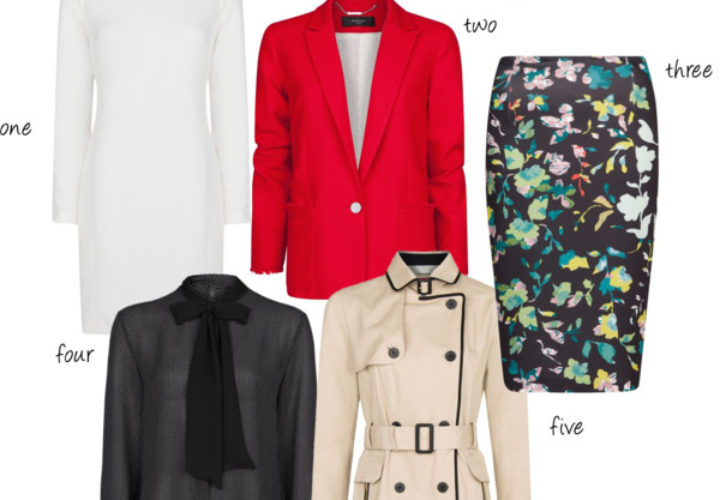 Five Pieces to Transition into Spring from Mango