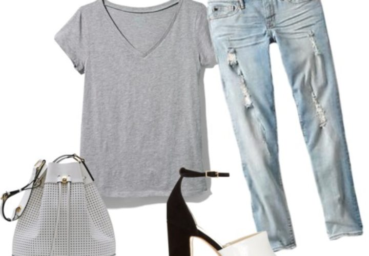 How to Wear a Tee Shirt + Jeans Two Different Ways