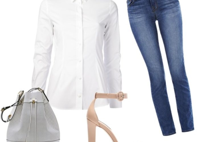 Five Ways to Wear a White Button Down Outside the Office