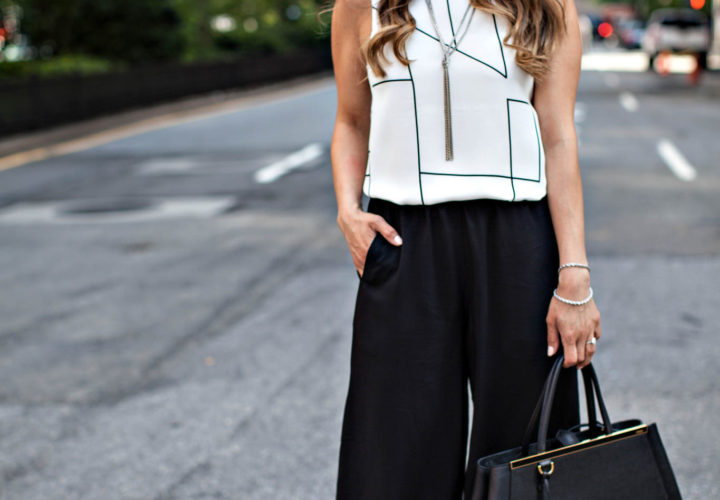 How to Wear Culottes to Work