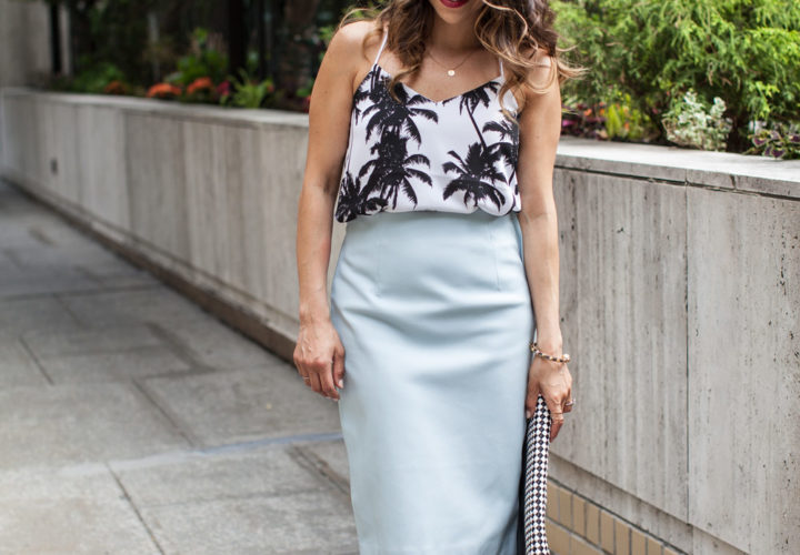 How to Wear a Pencil Skirt Out of Office