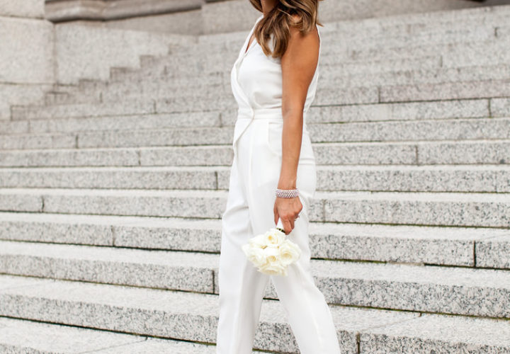 Wedding Week | White Wedding Jumpsuit