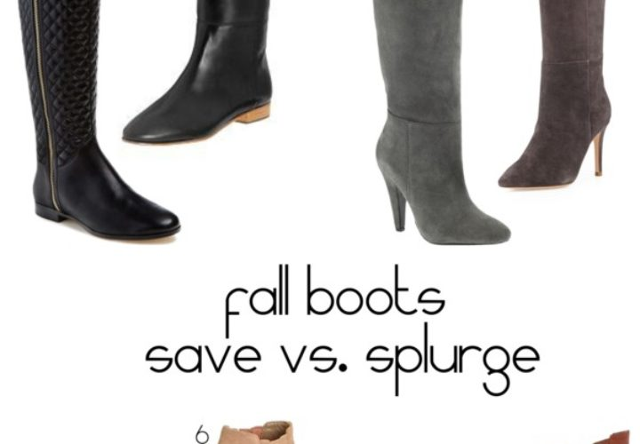 Lust List | Fall Boots + Save vs. Splurge