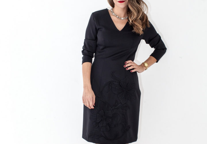 Josie Natori Dress | NYC Holiday Soiree