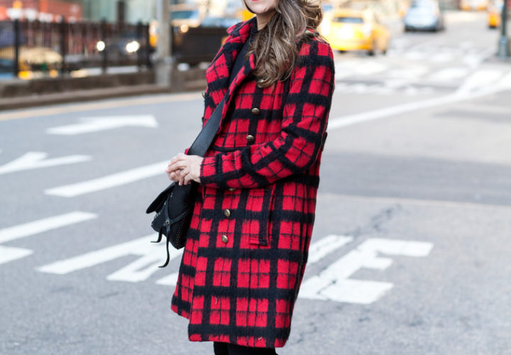 Casual Look | Black & Plaid