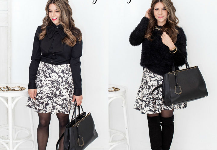 Day to Night | Printed Skirt