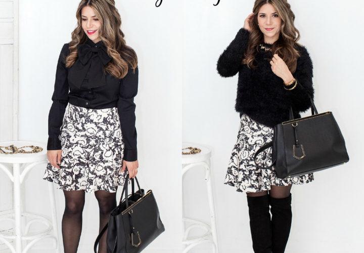 Day to Night | Printed Skirt