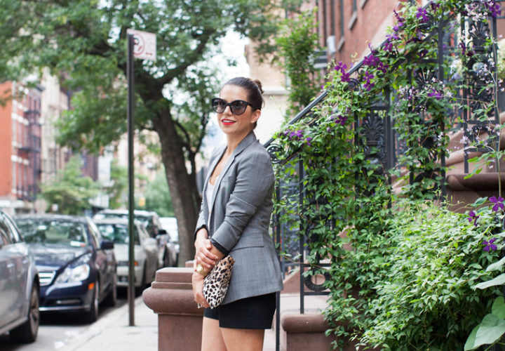 After Hour Style | Blazer + Shorts