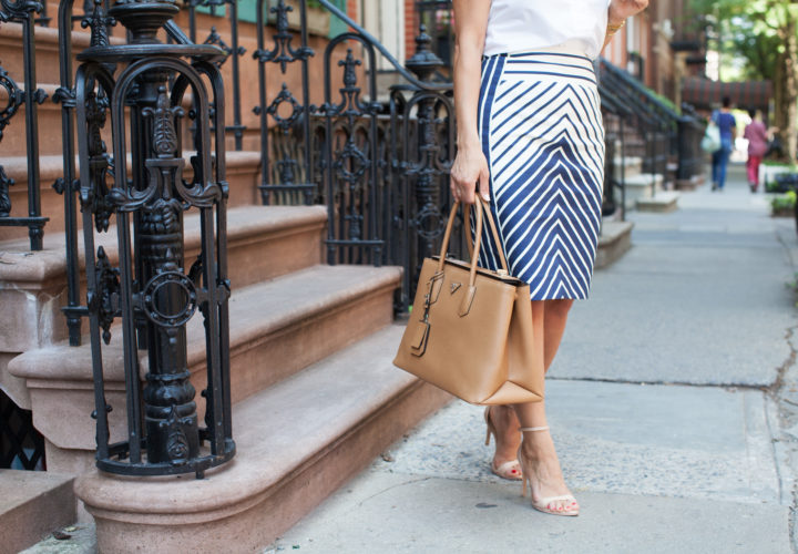 What to Wear to Work | Chevon Skirt