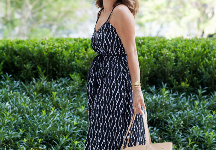 Weekend Casual | Printed Maxi Dress