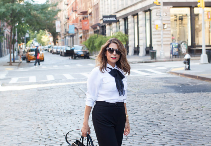 What to Wear to Work | Black & White