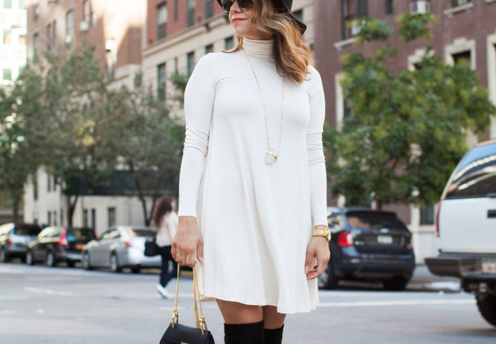 How to Style Over the Knee Boots This Fall