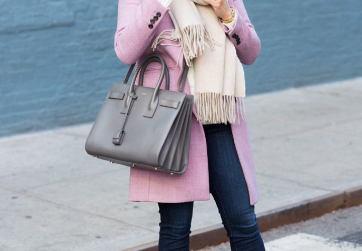 Cable Knit + Oversized Scarf