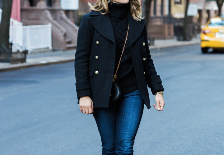 Weekend Style | Black Knit