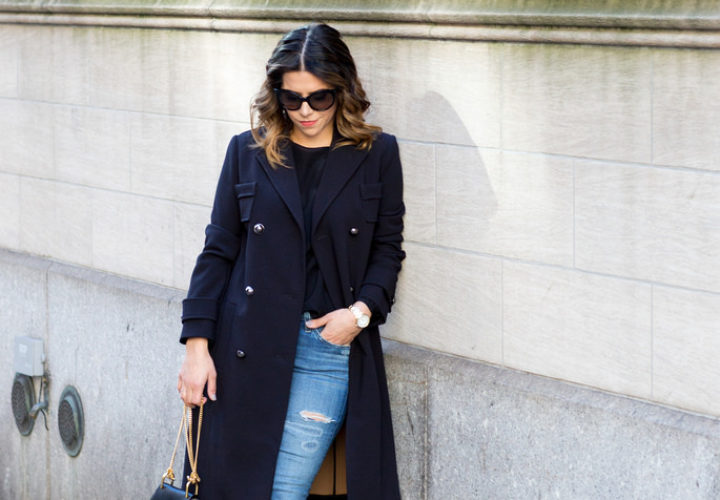 Casual Style | Oversized Military Coat