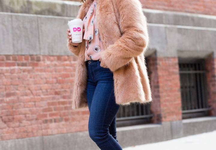 Weekend Style | Faux Fur Coat