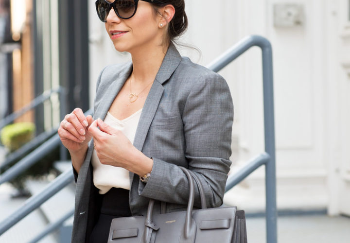 What to Wear to Work | Pencil Skirt + Blazer