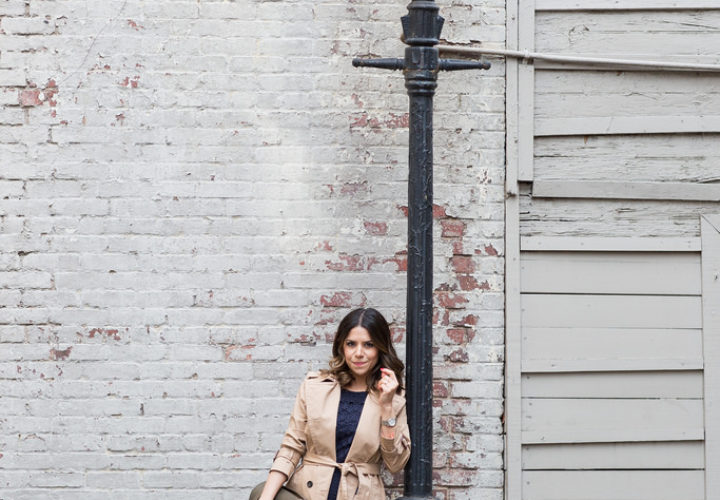 What to Wear to Work | Classic Trench Coat