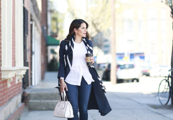 Casual Style | Denim + Trench