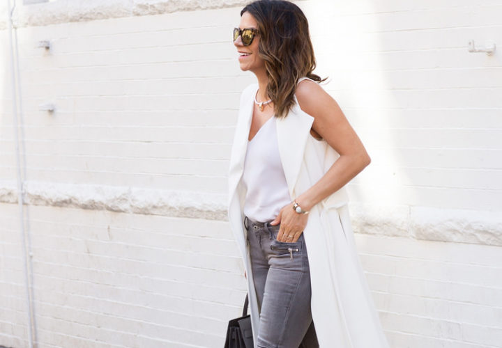 Weekend Style | White Duster