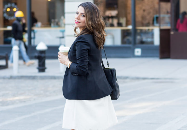How to Wear a Peplum Dress to Work