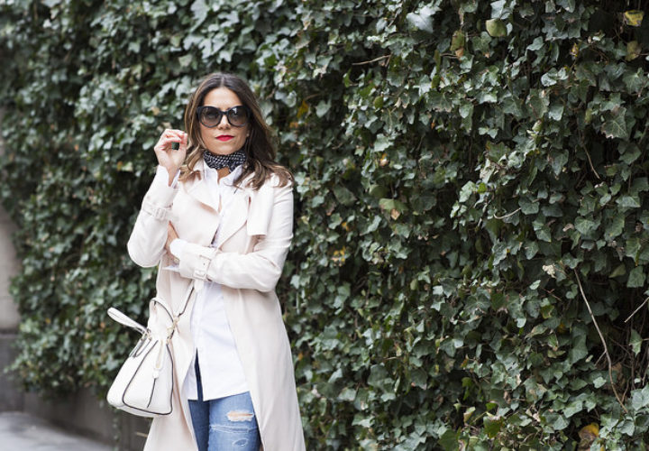 Casual Style | Blush Trench