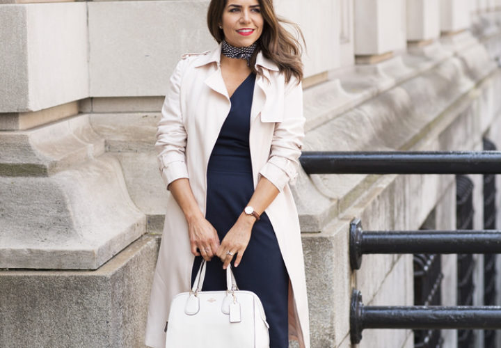 What to Wear to Work | Silk Scarf