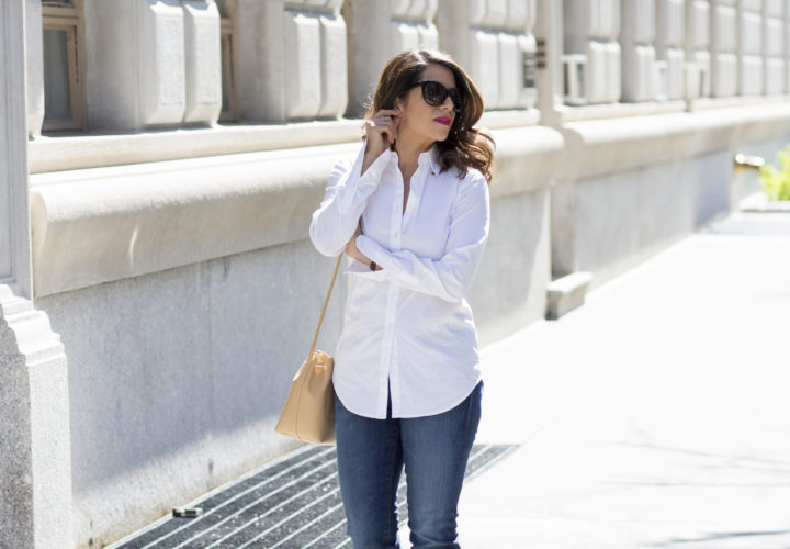Weekend Style |White Button Down