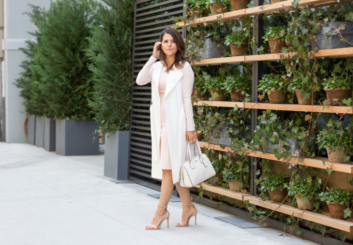 What to Wear to Work | Blush Pink