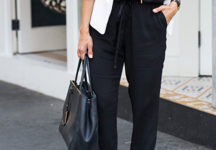 How to Style a Jumpsuit for Work