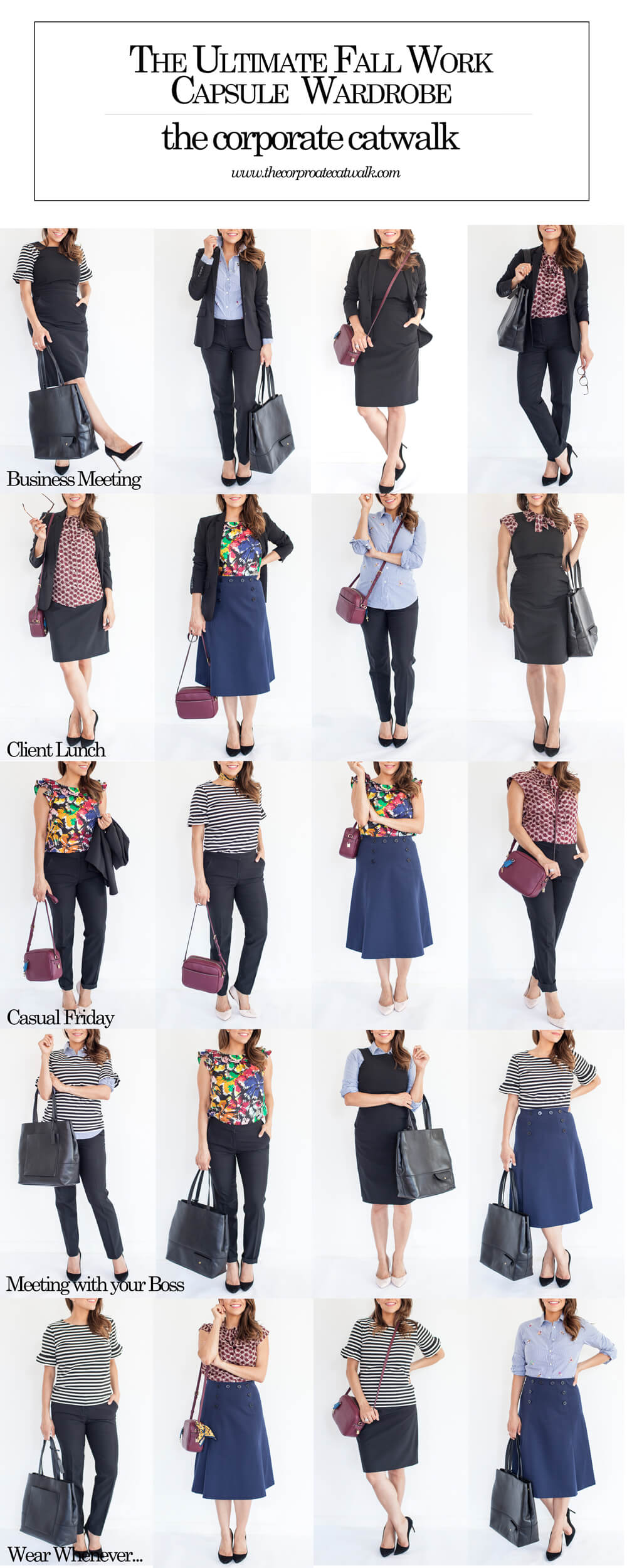 9aedd6ee8b8e The Ultimate Fall Work Capsule Wardrobe What to wear to Work Outfit Ideas  for Work Corporate Catwalk