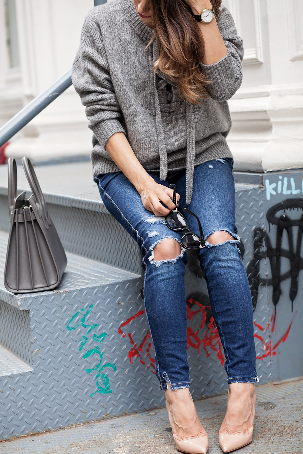 lace-up-sweater-ripped-denim-street-style-casual-style-new-york-city-corporate-catwalk-1