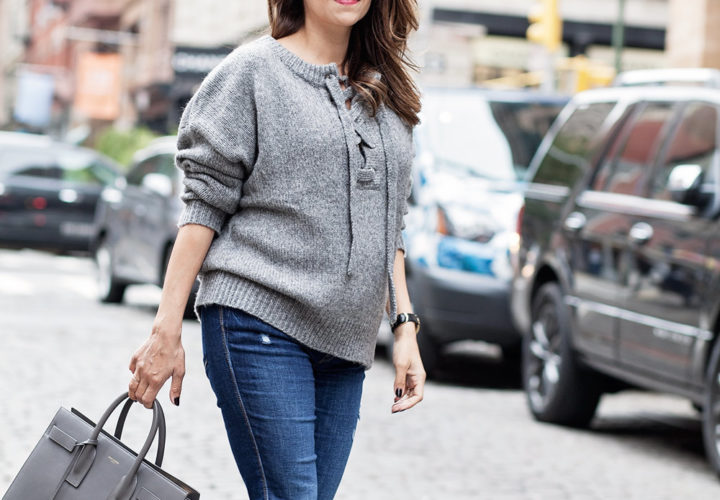 The Chunky Knit Sweater + Seasonal Trends