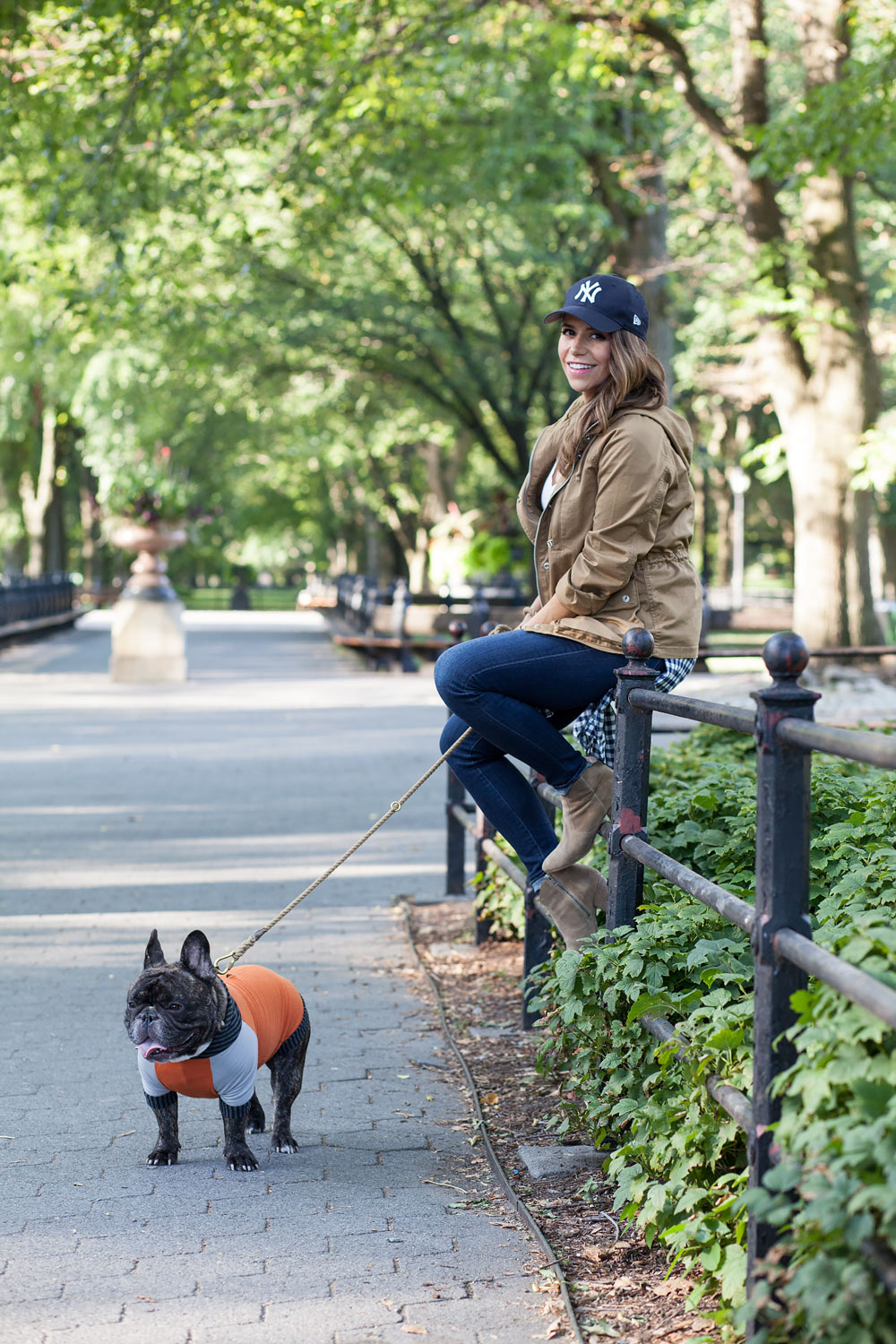 PetYen Training your dog New York City Preparing for a baby Central Park Corporate Catwalk New York City Blogger French Bulldog How to find a Pet Trainer in NYC