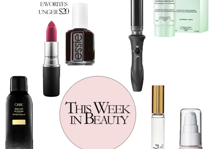 This Week in Beauty | Current Favorites